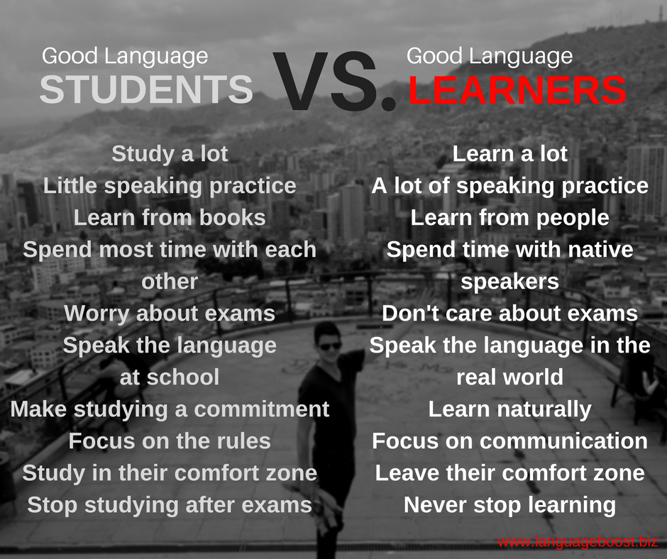 Being A Good Student Vs. Good Learner
